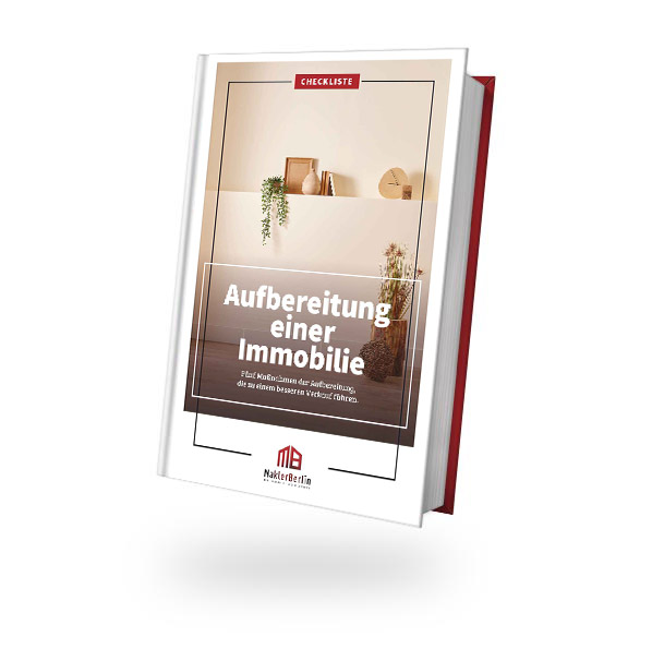 MaklerBerlin - Immobilienmakler in Berlin und Brandenburg - checklisten book cover aufbereitung