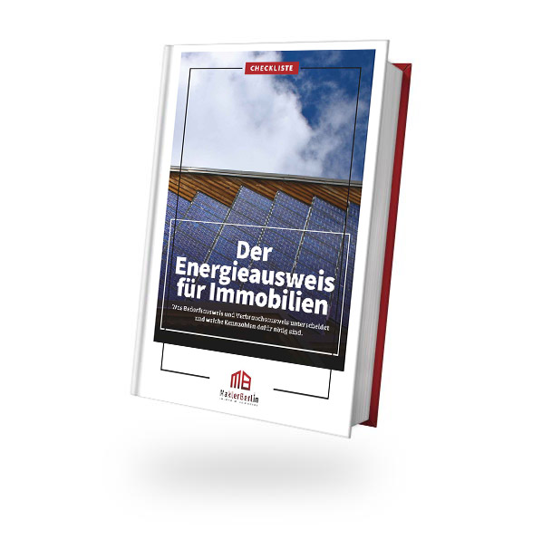MaklerBerlin - Immobilienmakler in Berlin und Brandenburg - checklisten book cover energieausweis