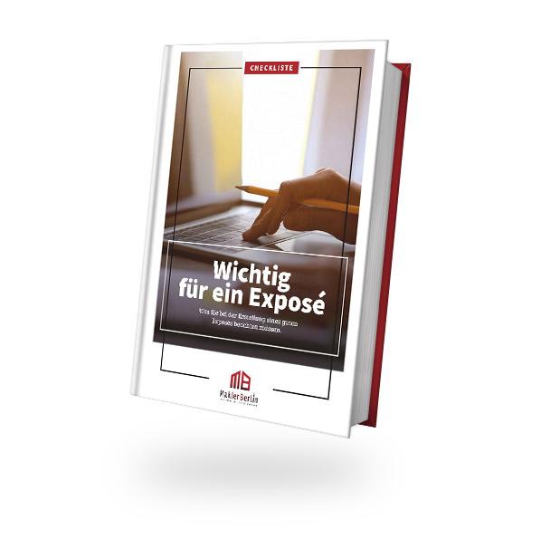 MaklerBerlin - Immobilienmakler in Berlin und Brandenburg - checklisten book cover