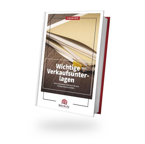 MaklerBerlin - Immobilienmakler in Berlin und Brandenburg - checklisten book cover verkauf