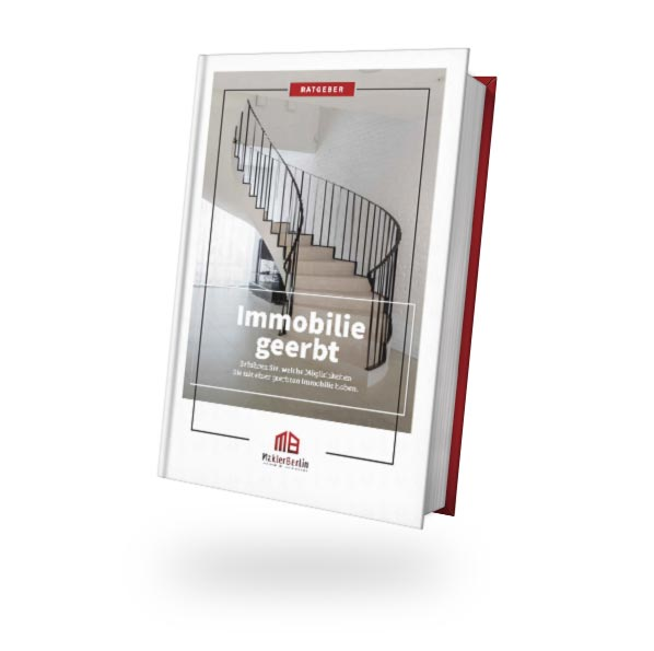 MaklerBerlin - Immobilienmakler in Berlin und Brandenburg - ratgeber book cover immobilie geerbt
