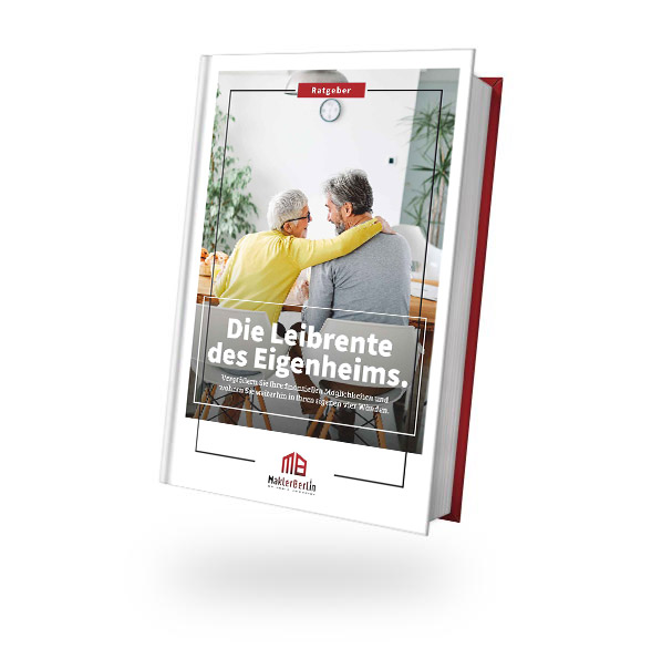 MaklerBerlin - Immobilienmakler in Berlin und Brandenburg - ratgeber book cover immobilie leibrente